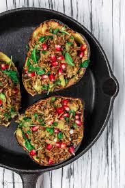 Mediterranean Style Food - mediterranean style stuffed acorn squash recipe the