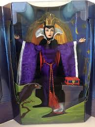 filmic light snow white archive 1998 evil queen doll by mattel