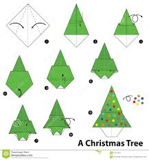 origami christmas decorations step by step home decorating
