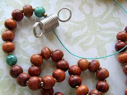 make a tassel necklace with prayer beads u2013 rings and things