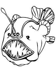 deep sea creatures coloring pages within eson me