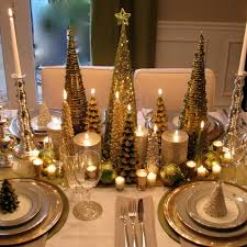 Modern Dining Table Setting Ideas 50 Stunning Christmas Table Settings U2014 Style Estate