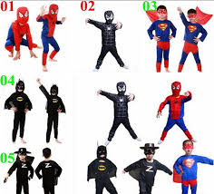 cosplay wholesaler spinbaby sells 2015 spiderman superman batman