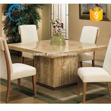 Luxury Marble Dining Table Travertine Marble Table Sets Travertine Marble Table Sets