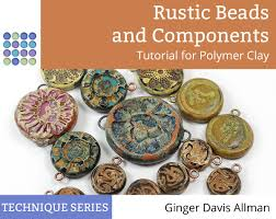 learn to make rustic styled beads from polymer clay with this fun tutorial from the blue