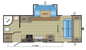 Floor Plan View by 2018 Jayco Jay Feather Travel Trailer Rv Centre