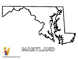 maryland map capital 20 maryland state map at coloring pages book for boys gif