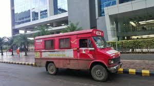 indian car tata file indian postal service tata delivery van pune maharashtra