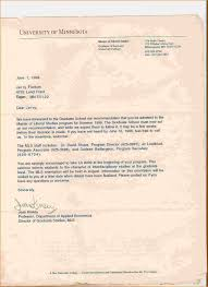 graduate recommendation letter sample images letter