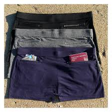Women 39 s underwear with pockets by clever travel companion