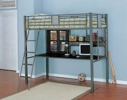 Metal Bunk Bed With Desk Underneath Metal Bunk Bed With Desk Underneath Home Design Ideas