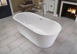 Freestanding Bath Tub Faucet Com Cef7032bcxxxxw In White Chrome Trim By Jacuzzi