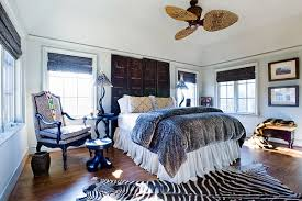 decorating ideas concept fashionable bedroom with african