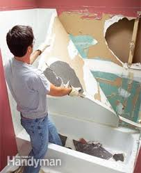 How To Install A Bathtub Drain How To Install A Bathtub Install An Acrylic Tub And Tub Surround