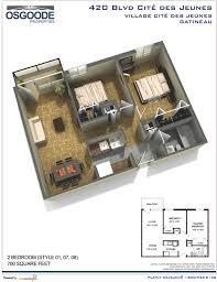 appartement 2 chambre plan appartement 2 chambres beautiful merveilleux plan de maison