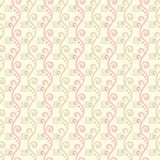 retro wallpaper with seamless floral pattern in pastel shades