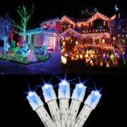 led light for christmas walmart solar powered christmas lights