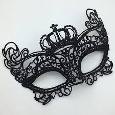 mask for party on sale crown cutout eye mask for masquerade party black fancy