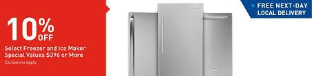 shop freezers u0026 ice makers at lowes com