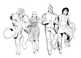 Wizard Of Oz Coloring Pages Getcoloringpages Com Wizard Of Oz Coloring Pages
