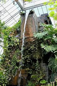 Erie Botanical Gardens Indoor Waterfall Picture Of Buffalo And Erie County Botanical
