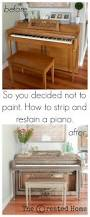 How To Strip And Repaint by How To Strip And Refinish A Piano Featuring Weatherwood Stains