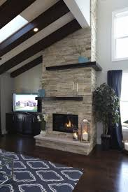 Unique And Beautiful Stone Fireplace by Living Room Ideas Stone Fireplace With Beautiful Mantel
