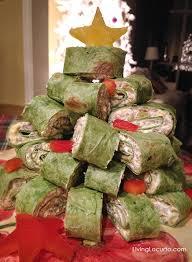 tree sausage wraps appetizer