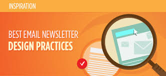 best newsletter design design practices for email newsletters