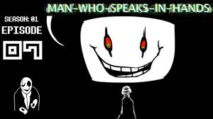gaster the who speaks in gaster s upset who speaks in episode 7