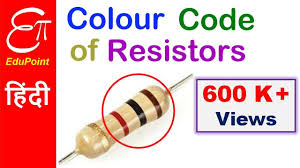 resistor color code in hindi 4 band resistor youtube