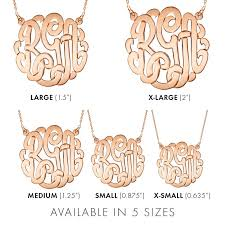 Gold Plated Monogram Necklace Best 25 Gold Monogram Necklace Ideas On Pinterest Monogram