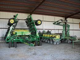 John Deere Planters by Soybeans