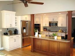 kitchen islands with columns kitchen island columns walnut wood light grey prestige door