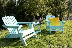 How To Paint An Adirondack Chair Painted Adirondack Chairs Homeright Finish Max Diy Paint