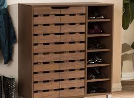 Oak Shoe Storage Cabinet Vermont Solid Oak 2 Drawer Shoe Storage Cabinet Noa Nani Care
