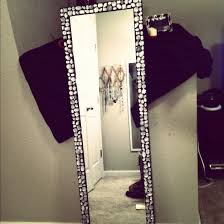 Diy Girls Bedroom Mirror Bling Mirror My Sister And I Made For Her Dorm Room Bling