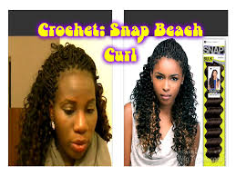 snap hair trying crochet snap curl