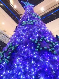 purple tree awesome decorations