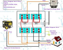 generator manual transfer switch wiring diagram gansoukin me at