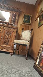 Victorian Dining Room Furniture Elaborately Carved Victorian Dining Room Table And Chairs And