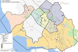 San Francisco Districts Map by Fremont City Council Chooses Less Popular District Map