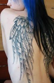 wing tattoos on back 186 best tattoo wings images on pinterest angel wing tattoos