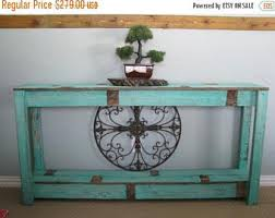 sofa tables on sale rustic sofa table etsy