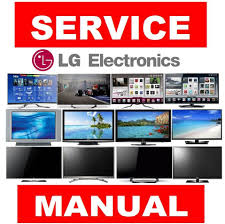 lg plasma lcd led 3d smart 4k uhd tv service manual and repair