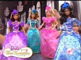 barbie musketeers doll commercial