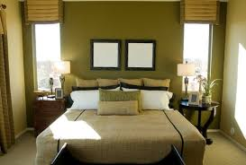 Olive Green Brown And Blue Bedroom Bedroom With Green Brown - Green bedroom color