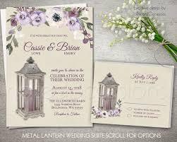 lantern wedding invitations rustic lantern country wedding invitations and rsvp card the