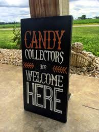 halloween decor fall decorations candy trick or treat wall