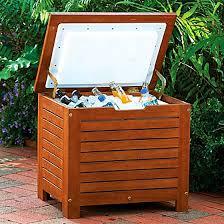 Patio Cooler Table Tables Teak Patio Furniture Teak Outdoor Furniture Decorative